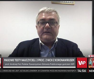 Profesor Andrzej Fal komentuje wyniki testów nauczycieli. Ekspert dostrzega wadę tego pomysłu