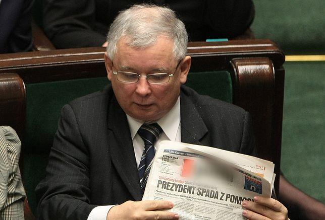 """Kaczyński chce repolonizacji. Wcześniej sprzedał polską gazetę Szwajcarom. """"Taki był rynek"""""""