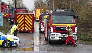 Bristol. Eksplozja w okolicy jednego ze zbiorników chemicznych w Avonmouth (PAP)