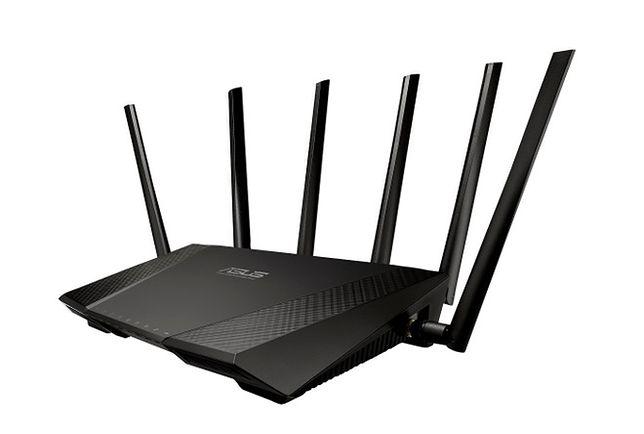 Trzyzakresowy router Wi-Fi od Asusa