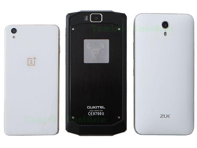 OnePlus X, Oukitel K10000, Zuk Z1