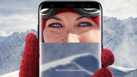 Skaner tęczówki w Galaxy S8 złamany zdjęciem i soczewką kontaktową