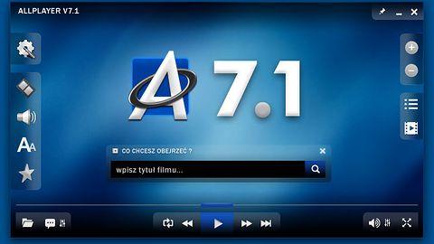 AllPlayer 7.1 znajdzie dla Ciebie filmy na dysku i w Internecie