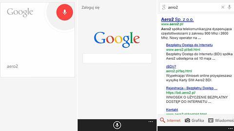 Piekło zamarzło: Google aktualizuje aplikację do wyszukiwania na Windows Phone