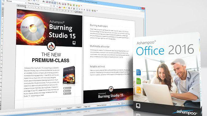 Ashampoo Office 2016: tańsza alternatywa dla Microsoft Office