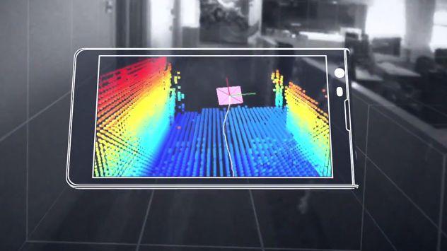 Projekt Tango od Google — smartfon analizujący otoczenie niczym człowiek