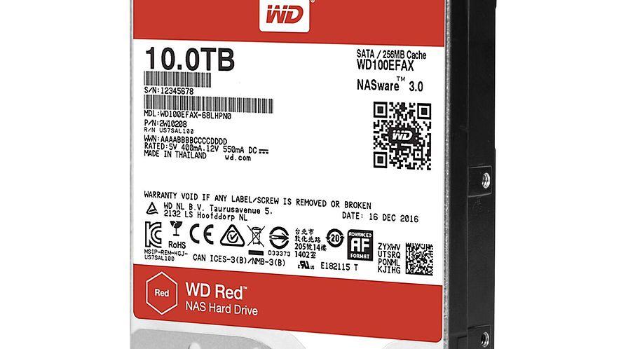 WD Red 10TB i WD Red Pro: Western Digital prezentuje nowe dyski dla NAS-ów