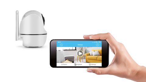 XBLITZ IP300 - bezprzewodowa kamera wewnętrzna IP z ruchomą głowicą i Wi-Fi