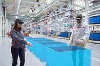 Audi wykorzystuje rzeczywistość rozszerzoną do poprawy wydajności w planowaniu logistyki - fot. Materiały Prasowe Audi