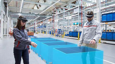 Audi wykorzystuje rzeczywistość rozszerzoną do poprawy wydajności w planowaniu logistyki