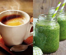 Zamieniła poranną kawę na zielony koktajl. To była świetna decyzja