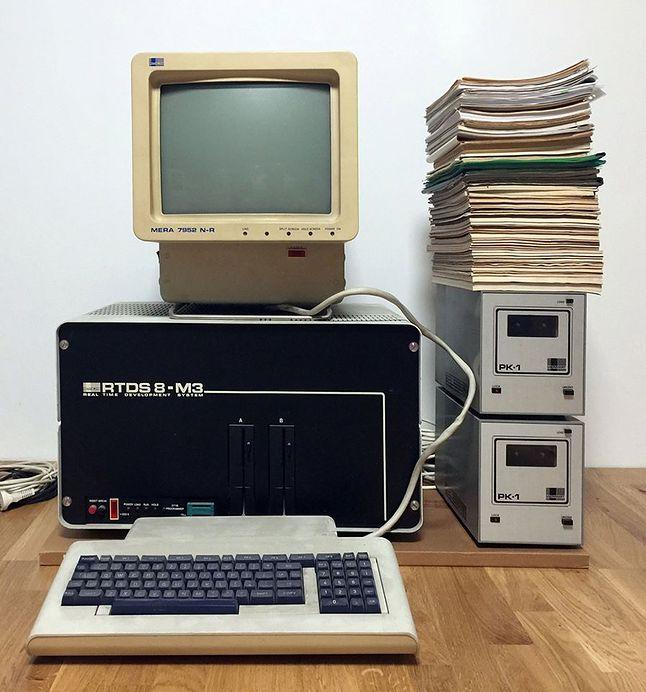 RTDS-8. Zdjęcie ze strony Polskie Komputery.