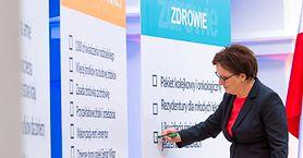 Premier Ewa Kopacz podsumowała rok swoich rządów – co z systemem opieki zdrowotnej?