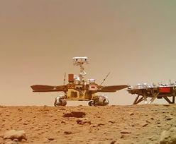 Chiński łazik na Marsie. Posłuchaj pierwszych dźwięków, które przesłał
