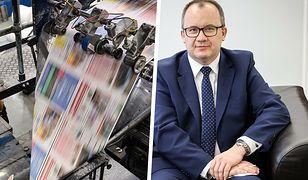 Polska Press zwalnia naczelnych. Adam Bodnar: Orlen robi czystki w redakcjach