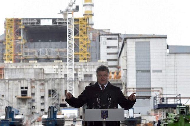 Czarnobyl z nową osłoną reaktora elektrowni atomowej