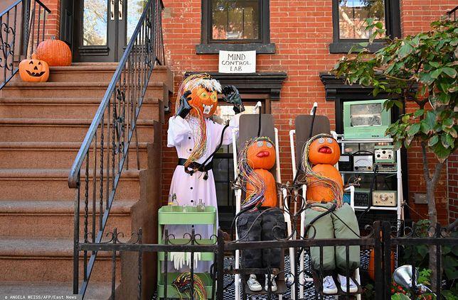 Halloween 2019. Tradycyjne dekoracje z okazji Halloween w Nowym Jorku