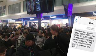 """Pogoda. Huragan """"Ciara"""" blokuje ruch lotniczy w Wielkiej Brytanii."""
