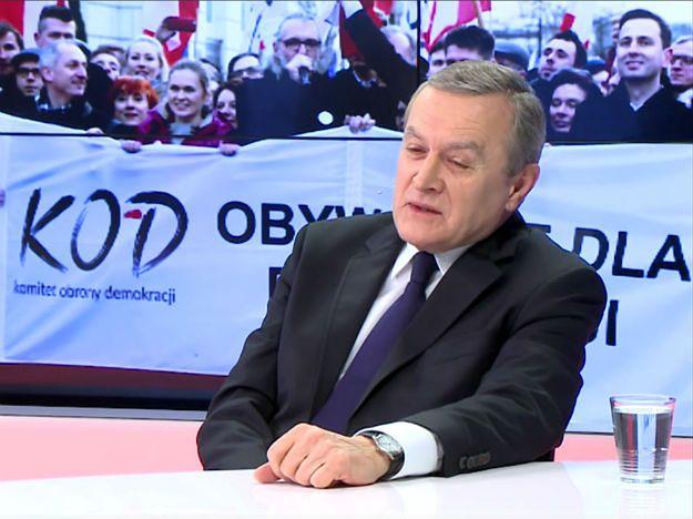 Piotr Gliński o opozycji: to opozycja postkomunistyczna