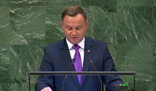 Przemówienie Andrzeja Dudy w ONZ