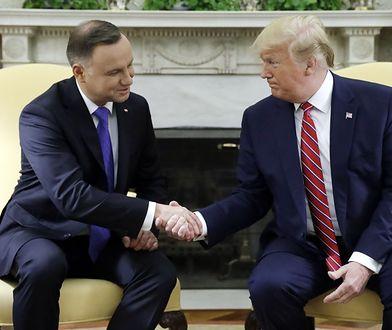 """Znamy cel spotkania Trump-Duda w Nowym Jorku. Będzie podpisanie dokumentu ws. """"Fortu Trump""""?"""