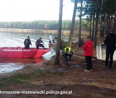 Tragiczny finał poszukiwań wędkarzy na Zalewie Sulejowskim