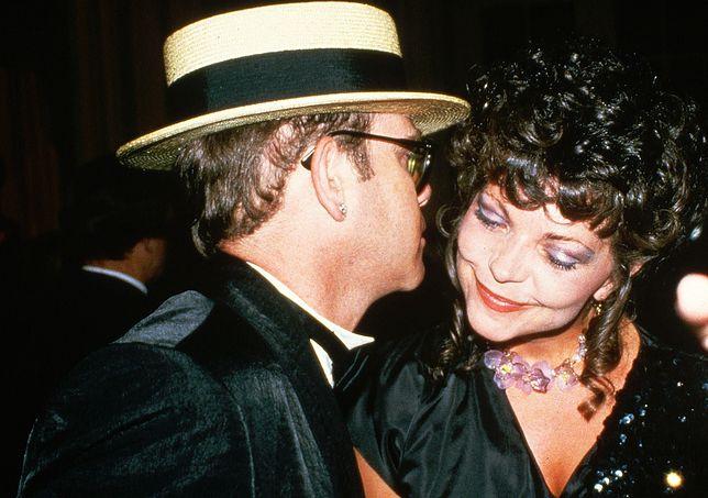 Elton John ze swoją od dawna byłą już żoną - Renate Blauel