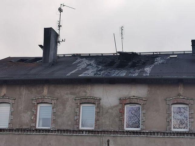 Budynek w Czeladzi po pożarze nie nadaje się do zamieszkania.