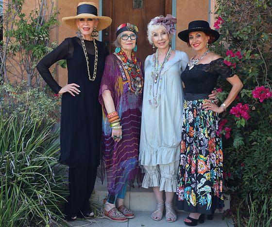Stylowe staruszki z bloga Advanced Style