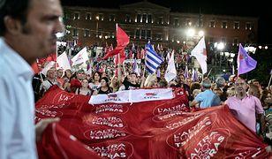 Wiec wyborczy Syrizy