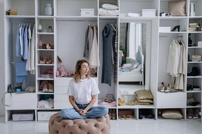 Pomysł na aranżację szafy