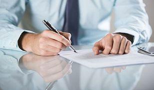 Sejm: umowy zlecenia będą ozusowane od 1 stycznia 2016 r.