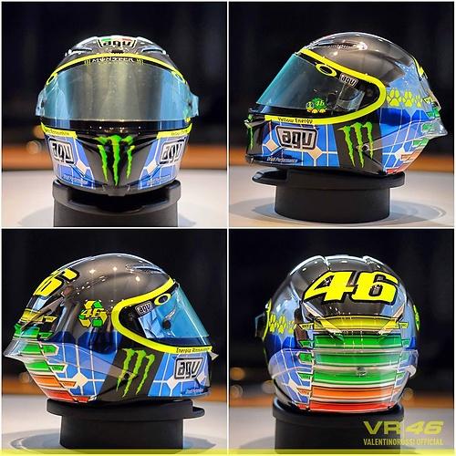 e4cdde69f2c Specjalne malowanie kasku Valentino Rossiego (zdjęcie) - WP ...