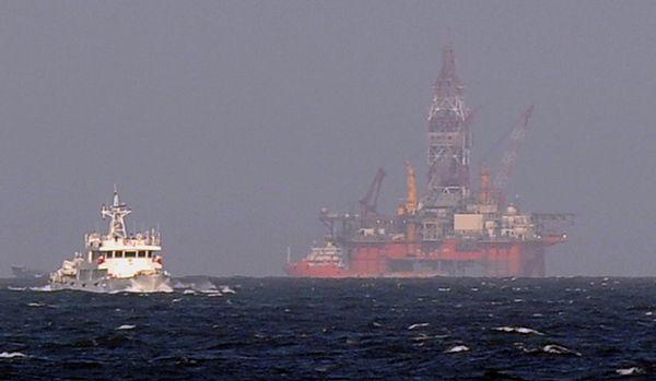 Chiny usunęły platformę ze spornych wód na M. Południowochińskim