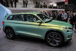 Skoda VisionS zapowiedzią długo oczekiwanego SUV-a