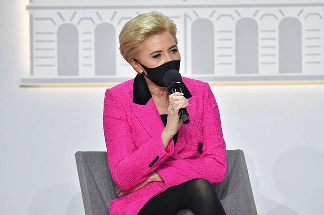 Agata Kornhauser-Duda doznała kontuzji