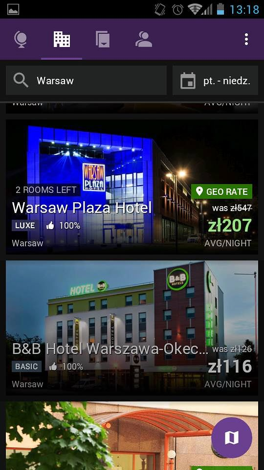 Warszawa Hotel Plaza za 207 zł