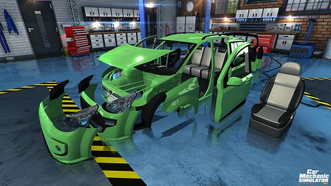 Chętni znowu pogrzebią w bebechach samochodów - nadchodzi Car Mechanic Simulator 2015