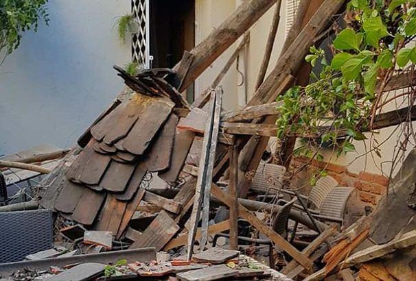 Na klientów restauracji w Zielonej Górze spadł dach