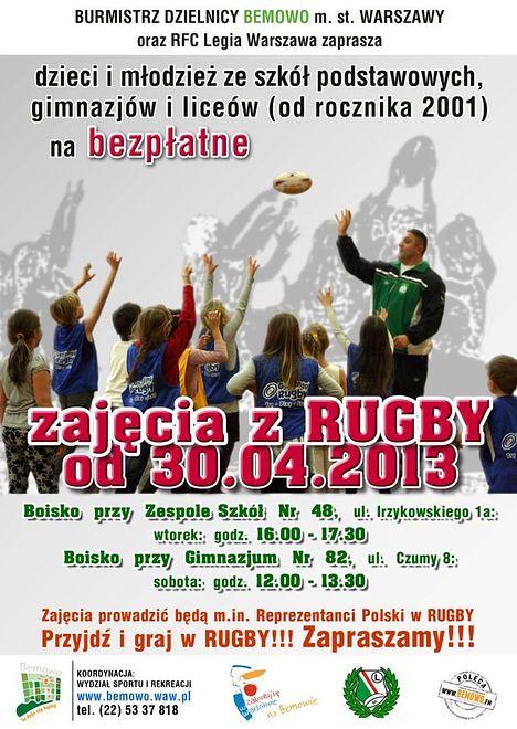 Za darmo: Zajęcia z rugby