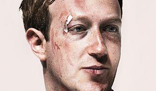 """""""Wired"""" pokazuje poobijanego Zuckerberga. O co chodzi?"""
