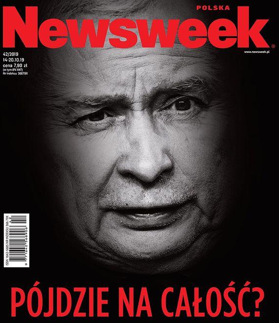 """Poniedziałkowe okładki tygodników. Newsweek pyta, czy Jarosław Kaczyński """"pójdzie na całość"""""""