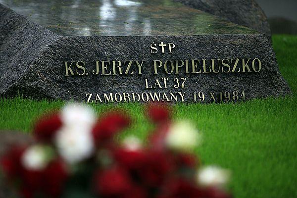 Grób ks. Jerzego Popiełuszki