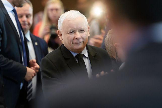 Wybory parlamentarne 2019. Jarosław Kaczyński (prezes PiS) - zdj. arch.