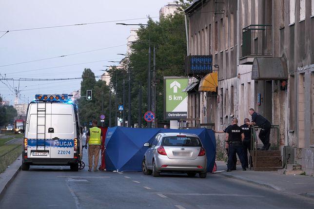Tragiczny wypadek w Warszawie. Nie żyje kierowca skutera