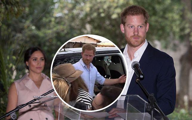 Książę Harry stracił panowanie. Na nagraniu widać, jak zareagował na pytanie dziennikarki