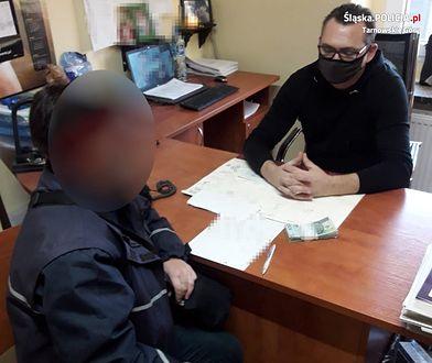 Śląsk. Znalazła 10 tysięcy złotych, odniosła na policję