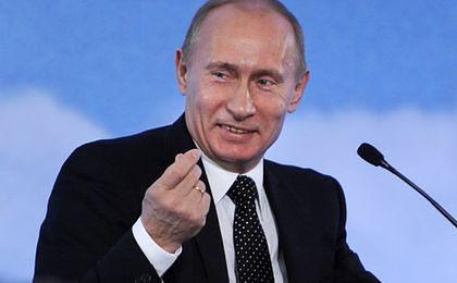 Putin będzie zarabiał krocie