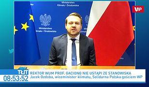 Jacek Ozdoba o oświadczeniu rektora WUM: bezwstyd