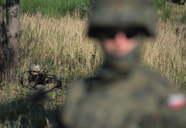 W manewrach wzięli udział m.in. polscy wojskowi